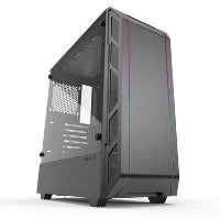 Phanteks Eclipse P350X Glass Digital RGB Midi Tower Case - Black