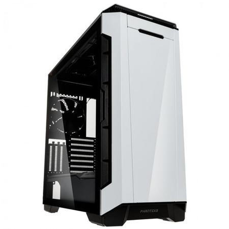 Phanteks Eclipse P600S Glass Silent Midi Tower Case - White