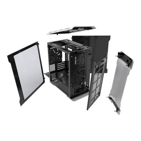 Phanteks Enthoo Evolv Micro-ATX Glass Case - Silver