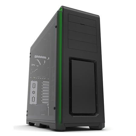 Phanteks Enthoo Luxe Glass Midi Tower Case - Gun Metal