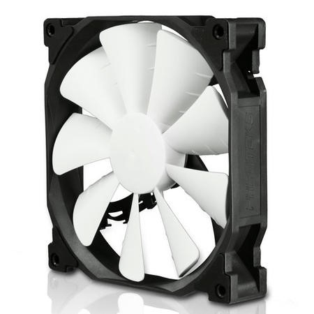 Phanteks PH F140SP 140mm Fan Red LED - Black / White
