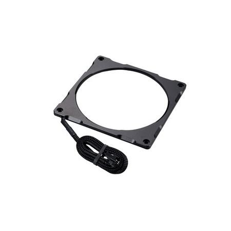 Phanteks Halos Lux 140mm RGB LED Fan Frame - Aluminium Black