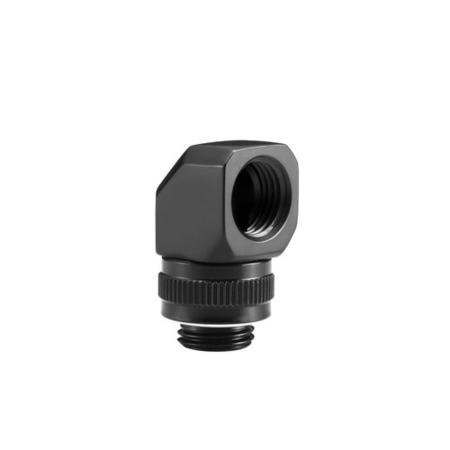 Phanteks M-F Rotary Fitting 90 G1/4 - Black