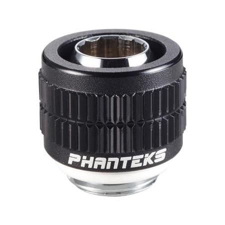 Phanteks 13/10mm Compression Fitting 1/2'' - 3/8'' G1/4 - Black