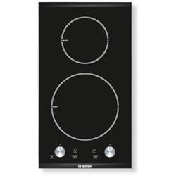 Bosch PIE375C14E Logixx 31cm Two Zone Induction Hob Brushed Steel