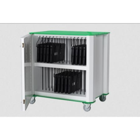 Nuwco 30 Bay Cart with AC charging