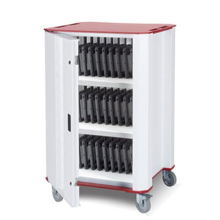 Nuwco 32 Bay Cart with AC Charging for Chromebooks