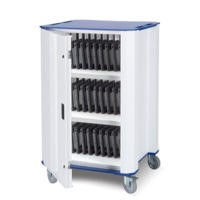 Nuwco 33 Bay Cart with USB charging & USB Sync