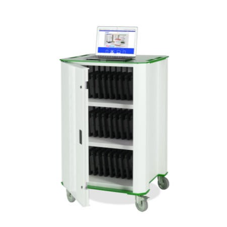 Nuwco 32 Bay Cart with USB charging
