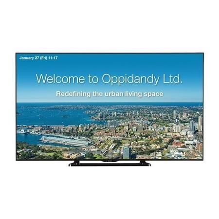 "Sharp PN-Q601K 60"" Full HD LED Large Format Display"