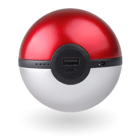 Pokemon Go Pokeball Powerbank for Mobile and Tablets - 8000mAh