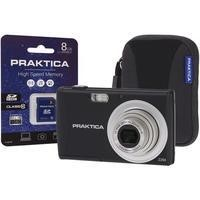 Praktica Luxmedia Z250 Compact Digital Camera + 8GB SD Card + Camera Case