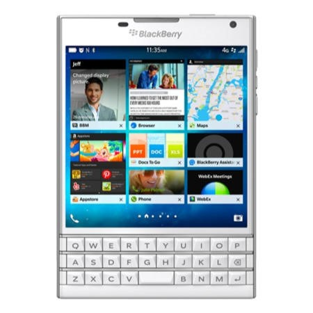 Blackberry Passport White 32GB Unlocked & SIM Free