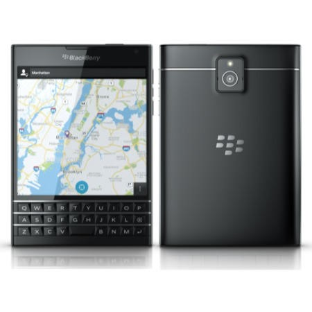 "Blackberry Passport Black 4.5"" 32GB 4G Unlocked & SIM Free"