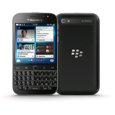 Blackberry Classic QWERTY 4G LTE 16GB Sim Free Smartphone - Black