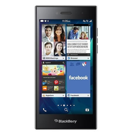 Blackberry Leap Black/Grey 16GB Unlocked & SIM Free