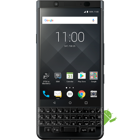 "A2/PRD-63117-035 Grade B BlackBerry KEYone Black Limited Edition 4.5"" 64GB 4G"