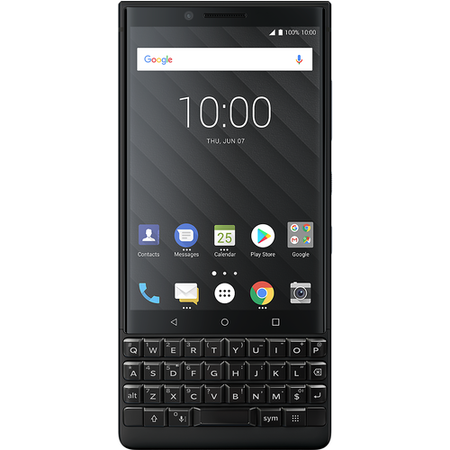"PRD-63828-007 BlackBerry® KEY2 Black 4.5"" 128GB 4G Dual SIM Unlocked & SIM Free"