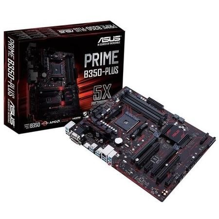 ASUS PRIME AMD B350-Plus DDR4 AM4 ATX Motherboard