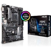 Asus PRIME B450-PLUS - Motherboard - ATX - Socket AM4 - AMD B450 - USB 3.1 Gen 1 USB 3.1 Gen 2 USB-C Gen1 - Gigabit LAN - onboard graphics CPU required - HD Audio 8-channel