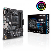 ASUS AMD Ryzen PRIME B450M-A AM4 Micro ATX Motherboard