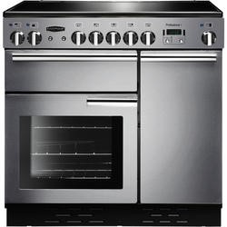 Rangemaster 83450 Professional 90cm Electric Range Cooker With Ceramic Hob - Stainless Steel