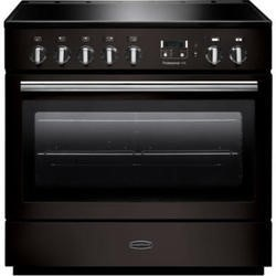 Rangemaster 96310 Professional Plus FX Black 90cm Electric Range Cooker With Induction Hob