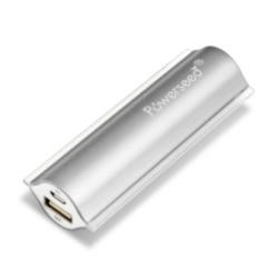 Powerseed PS-2400 2400mAh Smartphone iPhone Samsung Galaxy Mobile Charger - Silver