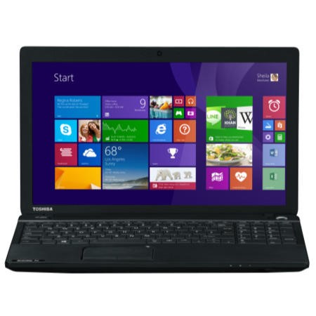 Refurbished GRADE A1 - As new but box opened - Toshiba Satellite Pro C50-A-1HP Core i3 6GB 500GB Windows 8.1 Laptop in Black