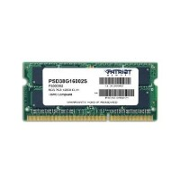 Patriot Signature Line 8GB No Heatsink 1 x 8GB DDR3 1600MHz Notebook MemorySystem Memory