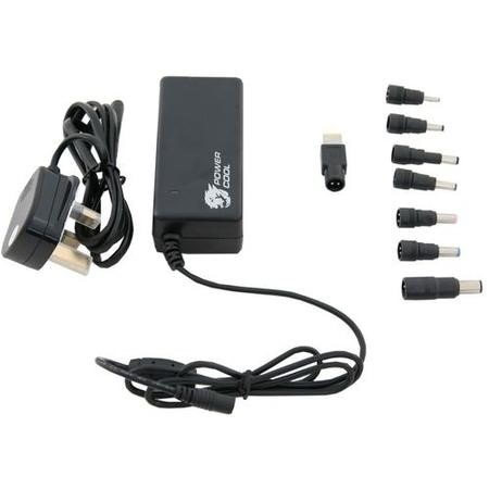Powercool 65W Universal AC Adaptor - Compatible with most models including HP Dell Toshiba Lenovo
