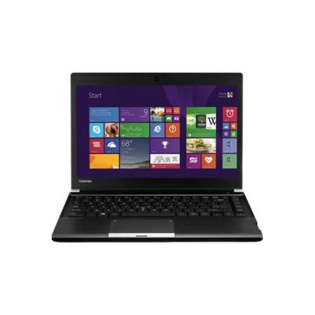 "A1 Toshiba Portege R30-A-1CQ Core i3-4100M 4GB 16GB 500GB 13.3"" HD LED DVDSM Windows 8.1 Ultrabook Laptop"