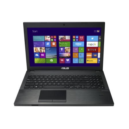 GRADE A1 - As new but box opened - Asus PU551LA Core i3-4040U 4GB 500GB DVDSM 15.6 inch Windows 7 Pro / Windows 8 Pro Spill/Shockproof Business Laptop