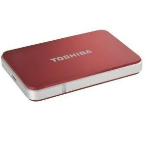 Toshiba PX1796E-1J0R 1TB Edition USB 3.0 2.5 inch External Hard Drive with 1 Year Data Recovery Service - Red