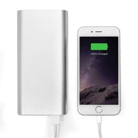 iQ 20800mAh 2A Powerful 5 Full Charges Portable Power Bank For Smartphones iPads & Tablets
