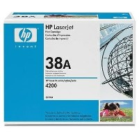 HP 38A Black Toner Cartridge