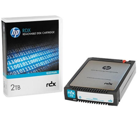 Hewlett Packard HP 2TB RDX REMOVABLE DISK CARTRIDGE