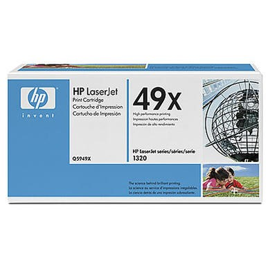 HP 49X Dual Pack - toner cartridge