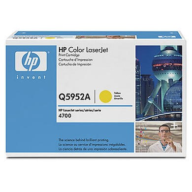 Q5952A HP Toner Cartridge - Yellow