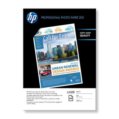 HP - matt photo paper - 100 sheet(s)