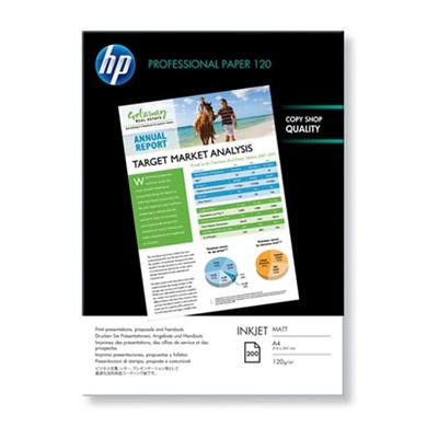 HP Professional 120 matt - matte paper - 200 sheet(s)