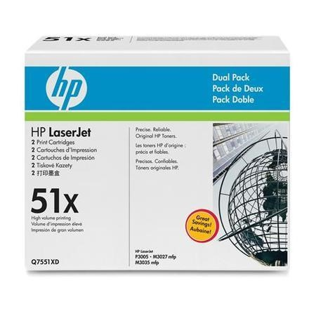 HP 51X Dual Pack - Toner cartridge - 2 x black - 13000 pages