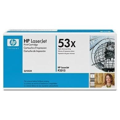 HP 53X Black Toner Cartridge
