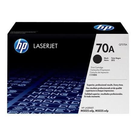 Hewlett Packard Q7570A CONTRACT BLK PRINT CART