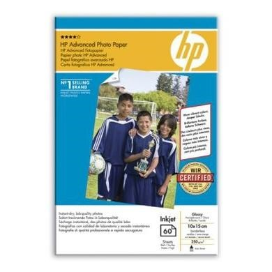 HP Advanced Glossy Photo Paper - glossy photo paper - 60 sheet(s)
