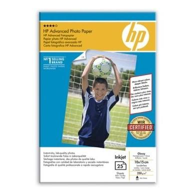 HP Advanced Glossy Photo Paper - glossy photo paper - 25 sheet(s)