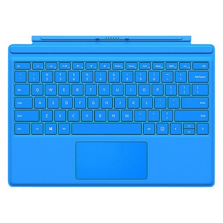 Microsoft Surface Pro 4 Type Cover in Bright Blue