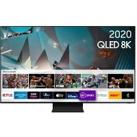 "Samsung 65"" 8K Ultra Sharp HD HDR10+ Smart QLED TV with Bixby Alexa and Google Assistant"