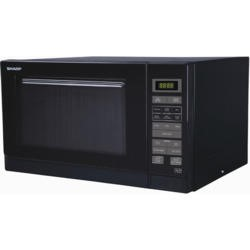 Sharp R372KM 900W 25L Freestanding Microwave Oven - Black