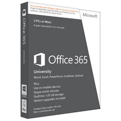 ESD Microsoft 365 University AE 4yr Eurozone - Electronic Download